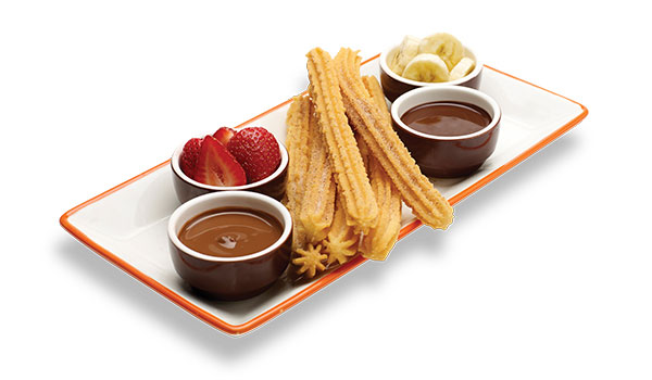 Churros & Fruit For Two