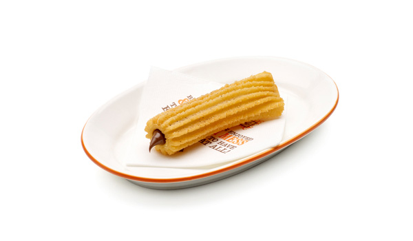 Spanish Choc-Hazelnut Filled Churro